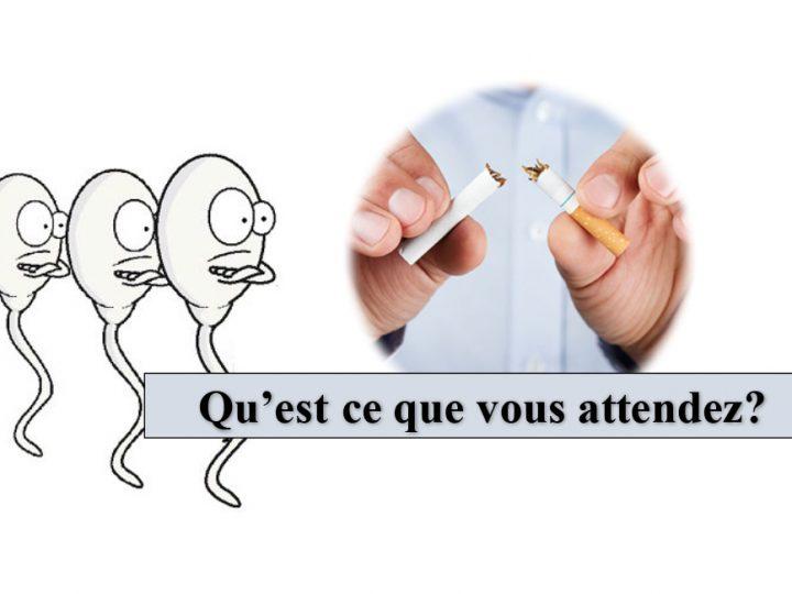 Les effets du tabac sur la qualite spermatique