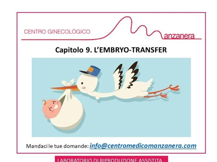 CAPITOLO 9. L'EMBRYO-TRANSFER IN RIPRODUZIONE ASSISTITA (FIV-ICSI)