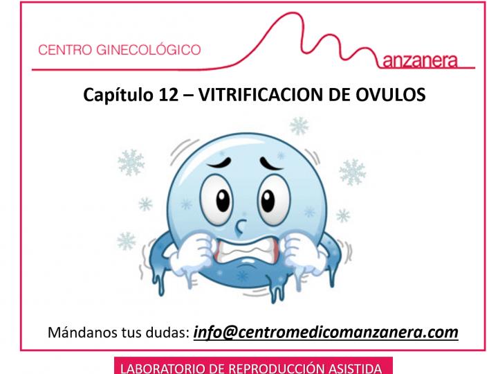 CAPITULO 12. VITRIFICACION DE OVULOS EN REPRODUCCION ASISTIDA (FIV)