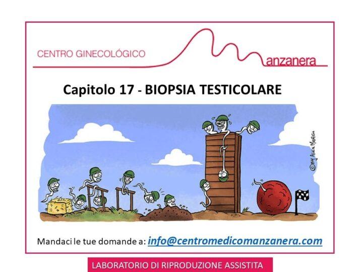 CAPITOLO 17. BIOPSIA TESTICOLARE NEI TRATTAMENTI DI RIPRODUZIONE ASSISTITA (FIV)
