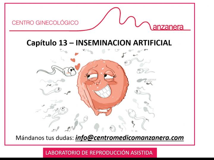CAPITULO 13. INSEMINACION ARTIFICIAL EN REPRODUCCION ASISTIDA