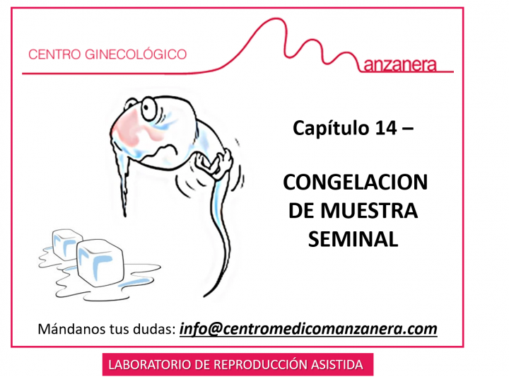 CAPITULO 14. CONGELACION MUESTRAS DE SEMEN EN TRATAMIENTOS DE FERTILIDAD (FIV)