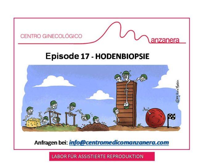 EPISODE 17. HODENBIOPSIE BEI FRUCHBARKEITSBEHANDLUNGEN (IVF)